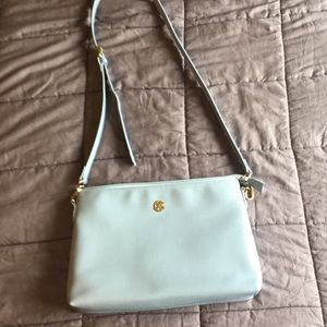 Powder blue purse